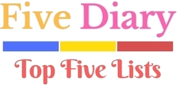Top Five Diary