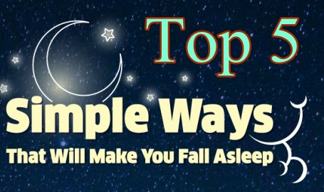 Top 5 Ways to Fall Asleep Quickly