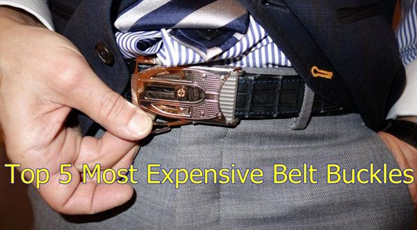 Top 5 Most Expensive Belt Buckles in the World