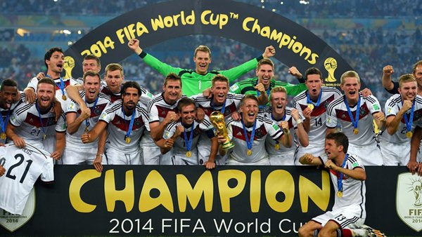 Top 5 Countries with Most FIFA Football World Cup Titles Wins All-Time