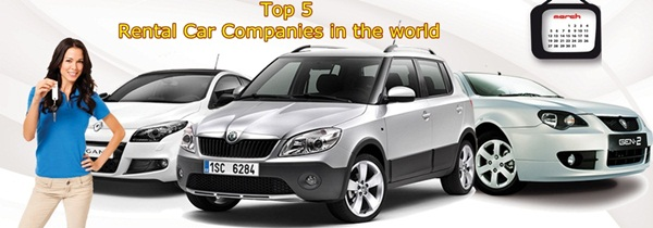 Top 5 Rental Car Companies in the world